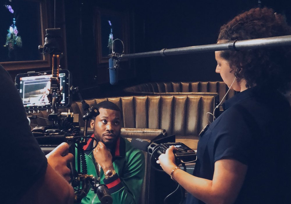 CEO Rose Reid interviews Meek Mill the day after his release from prison in April 2018. The podcast took more than six months to produce, consisting of more than 30 interviews, researching court transcripts and police reports spanning a decade. A co-production with IPC, #FreeMeek will launch in 2019 in tandem with an Amazon/Tidal video documentary series.