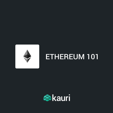 ethereum 101   Technical documentation powered by  Kauri  - a guide for developing on the Ethereum network. Free.