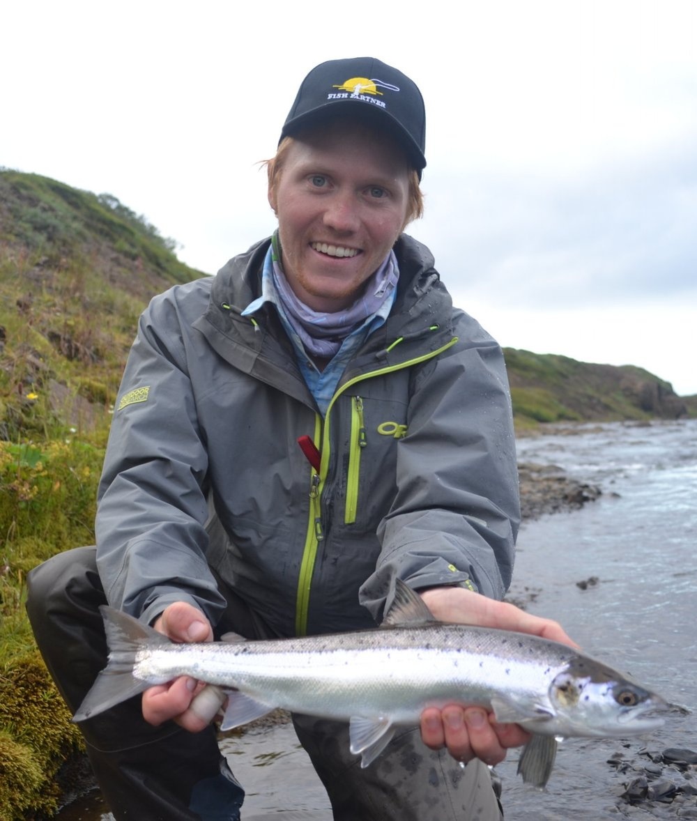 Elliott Adler - Elliott, a Wisconsin-born fishmonger, has been with Saltery Lake Lodge since 2016. His passion for flyfishing has led him on numerous cross-country roadtrips and eventually up to Alaska. When he's not at guiding for Saltery, Elliott works as the Assistant Editor for The Drake Magazine, a flyfishing publication based in Denver, Colorado. He also produces the magazine's weekly podcast, The DrakeCast. Elliott can't wait to man the net when you hook into the fish of a lifetime.