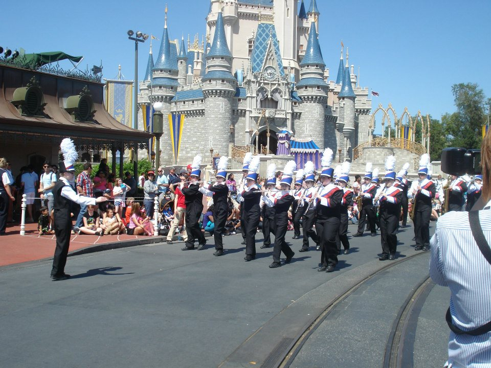 Owen Valley High School Band, Trip To Disney, 2012