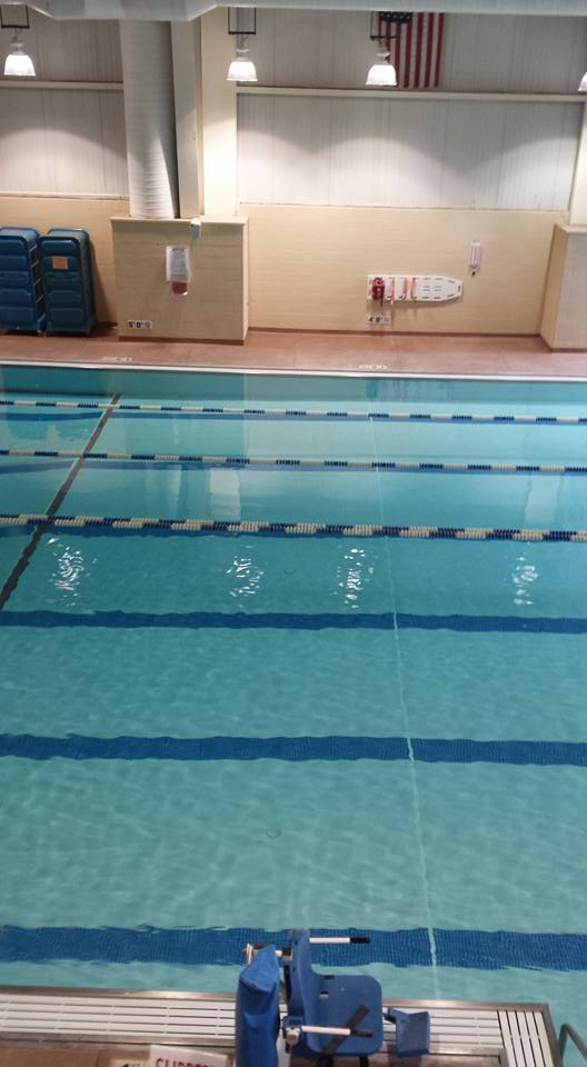 Photo of the Owen County Family YMCA Pool, Courtesy of the OC Family YMCA