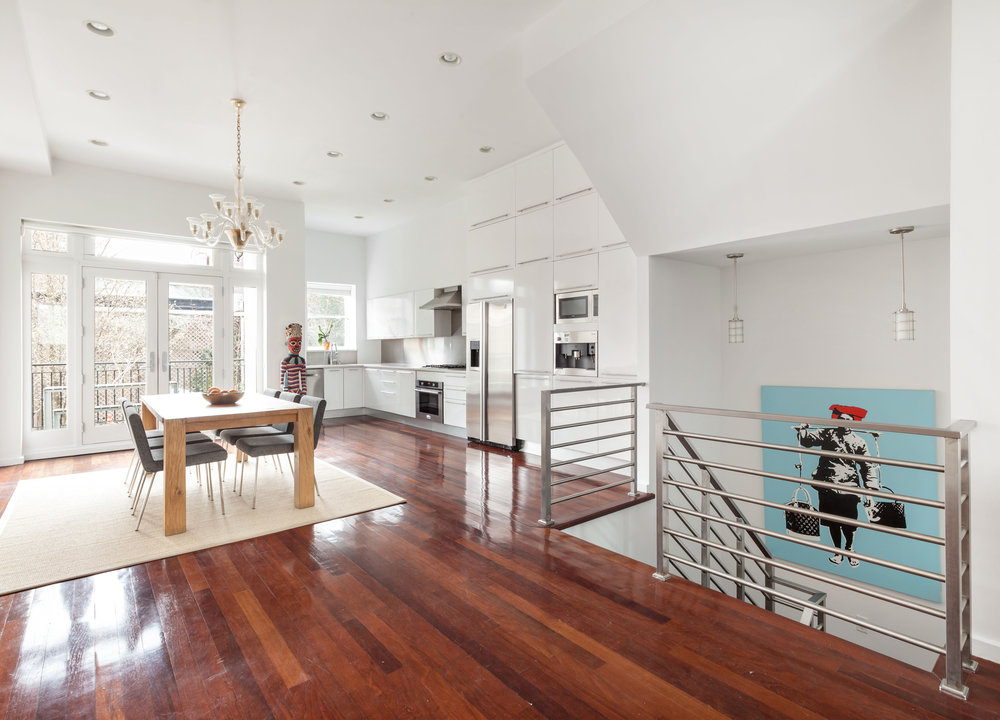 582 Pacific St, Garden Triplex (2-Unit Townhouse Condo)   Park Slope, Brooklyn   $2,495,000  4 Beds | 3.5 Baths | 2,925 SF