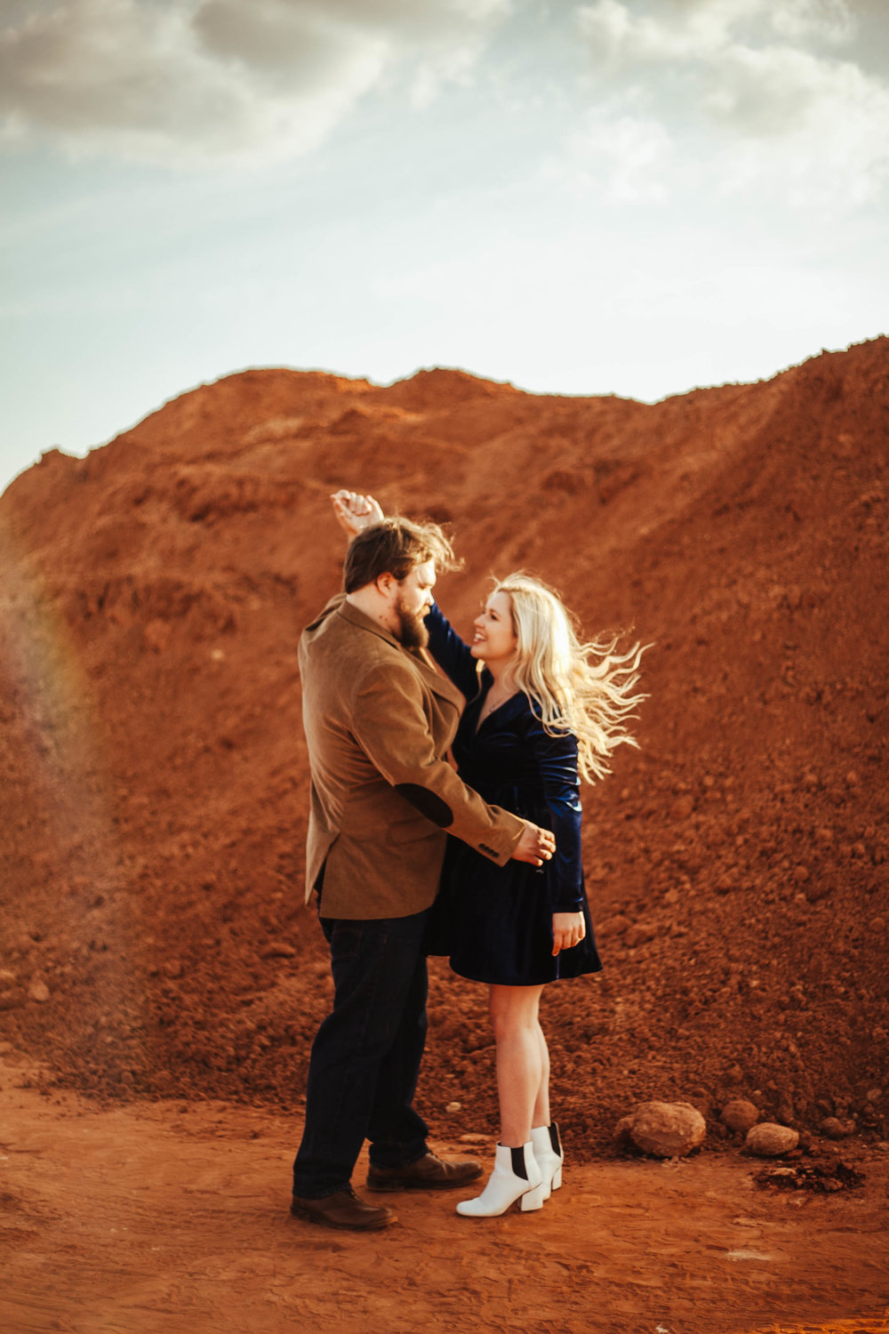 Sara + Jonathan - engagement session // 3.28.2018
