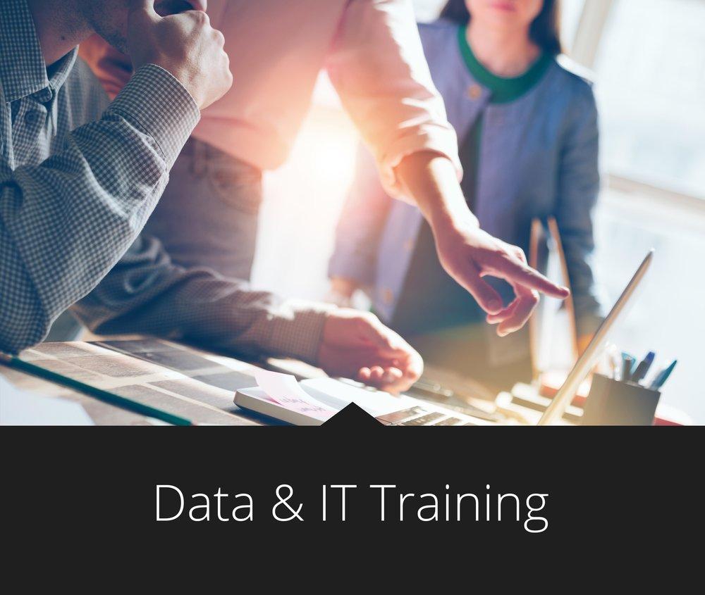 Data It Training Courses Learn It