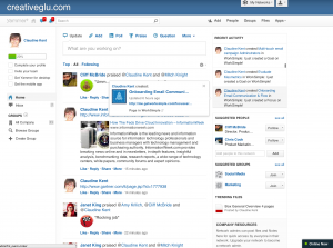yammer in the workplace