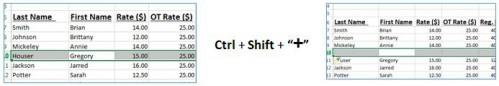 excel shortcuts 8