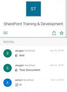 sharepoint training