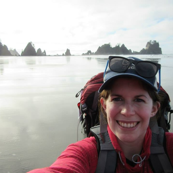 backpacking along the olympic coast wilderness