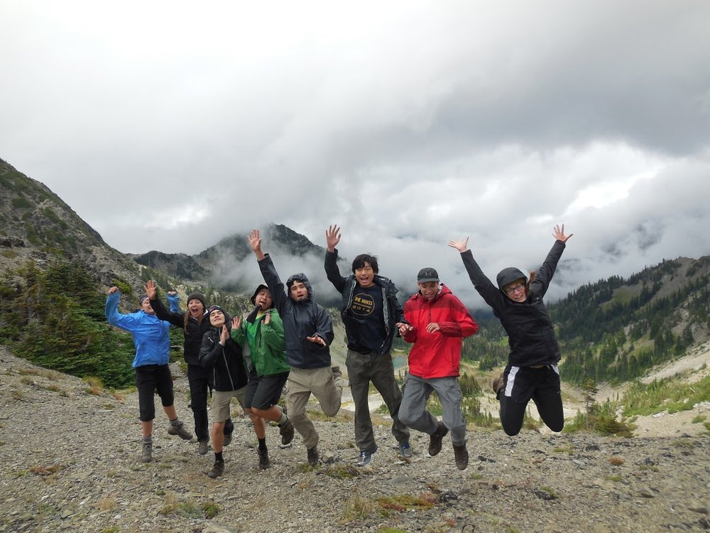 7-day Olympic Mountains Wilderness Adventure  - July 15 - 21, 2018