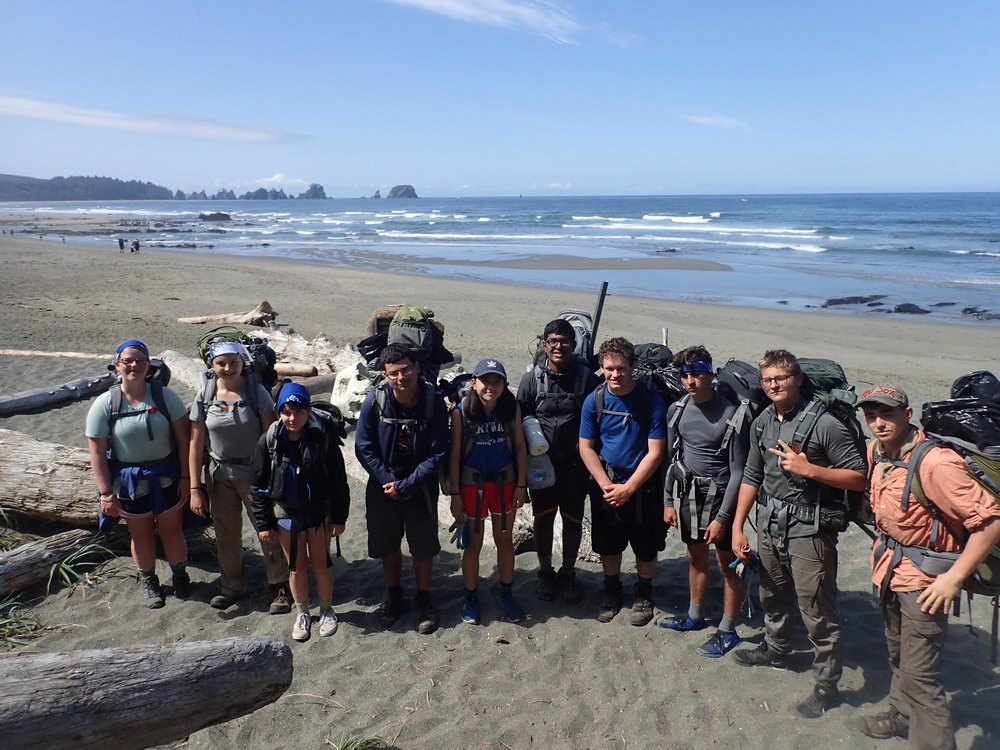 21-day Marine Science Exploration Crew with the Student Conservation Association - July 1 - 20, 2018 & July 29 - August 17, 2018