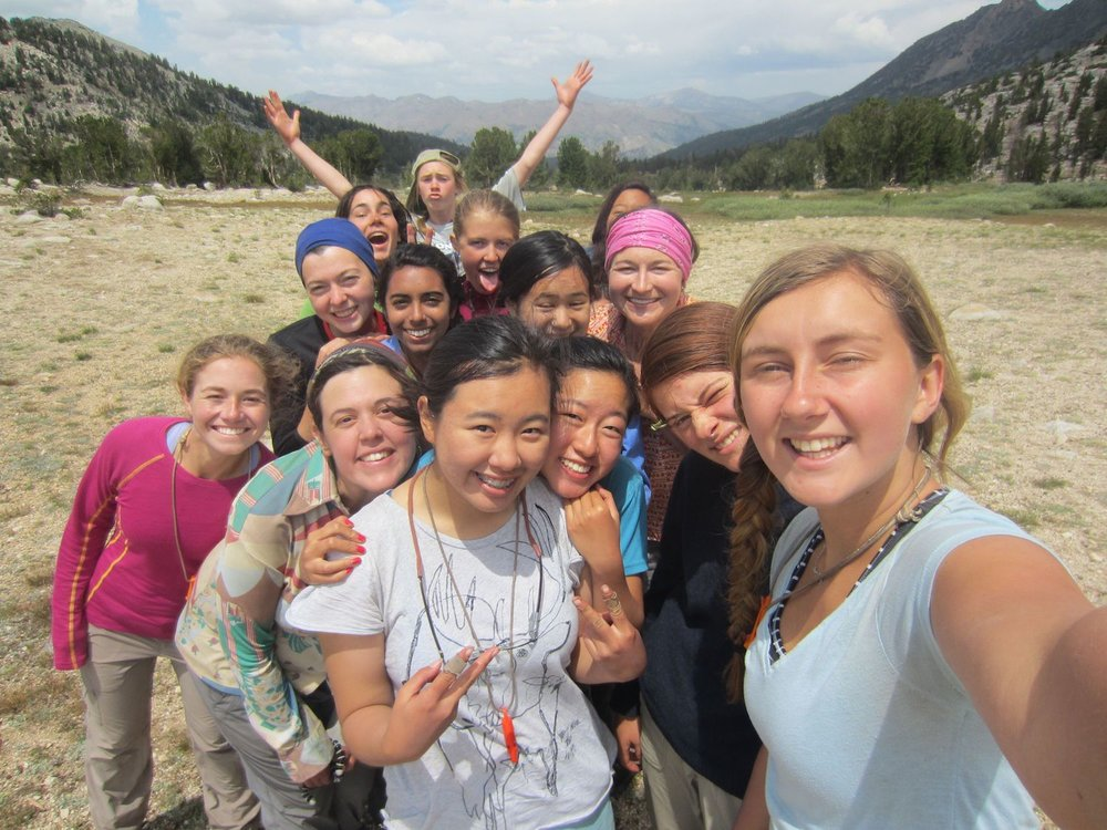 empowering backpacking program for teenage girls