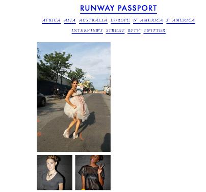 Runway Passport