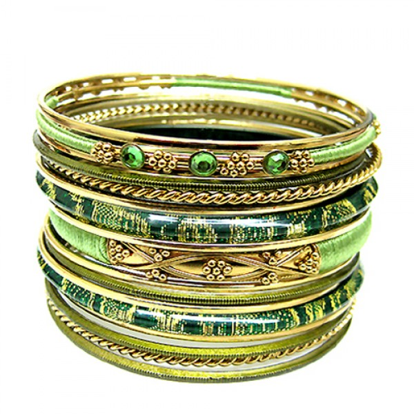 plus-size-vb17290-yellow-green-cotton-string-wrapped-with-plastic-and-gold-metal-bangles-set-of-18pcs_12.jpg