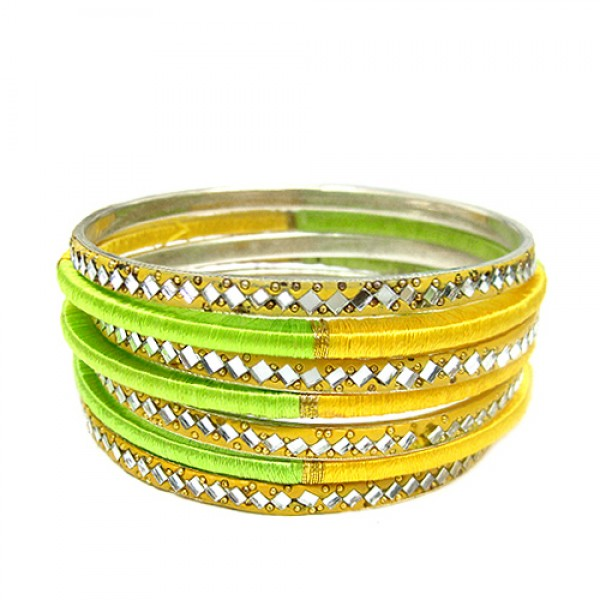 wholesale-fashion-jewelry-yellow-and-lime-green-mixed-mirrored-cotton-string-wrapped-versatile-bangles-set-of-7pcs_12.jpg