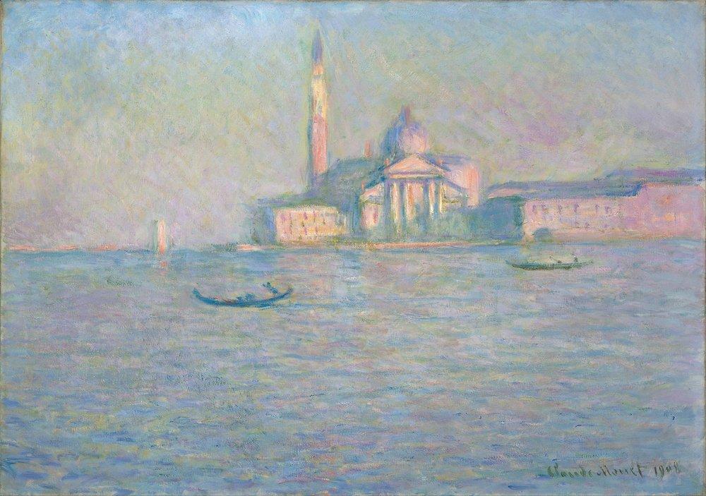 San Giorgio Maggiore, Monet, Wikipedia