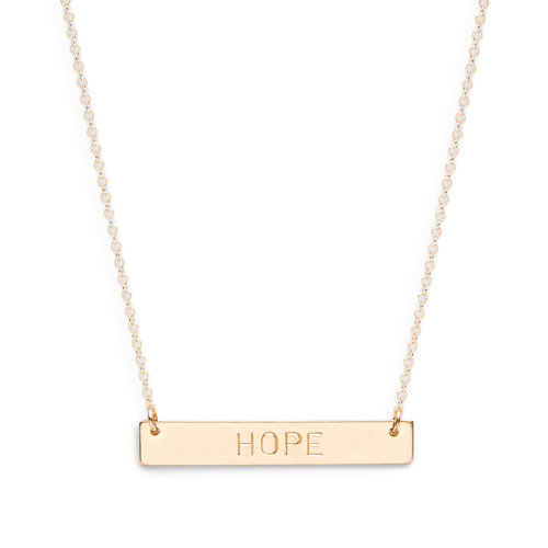 tag of lavaggi truth hope by product artist necklace