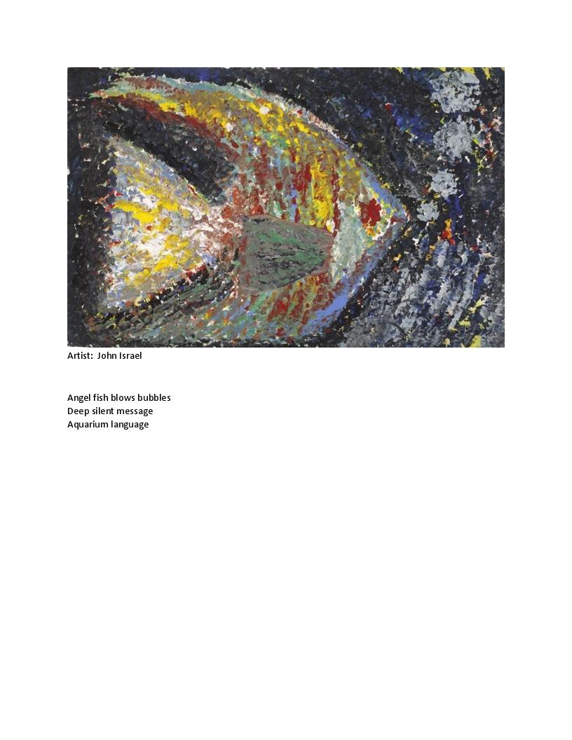 Art Courtesy gallery-265 Arc of Westchester Haiku: Robert Edward Miss