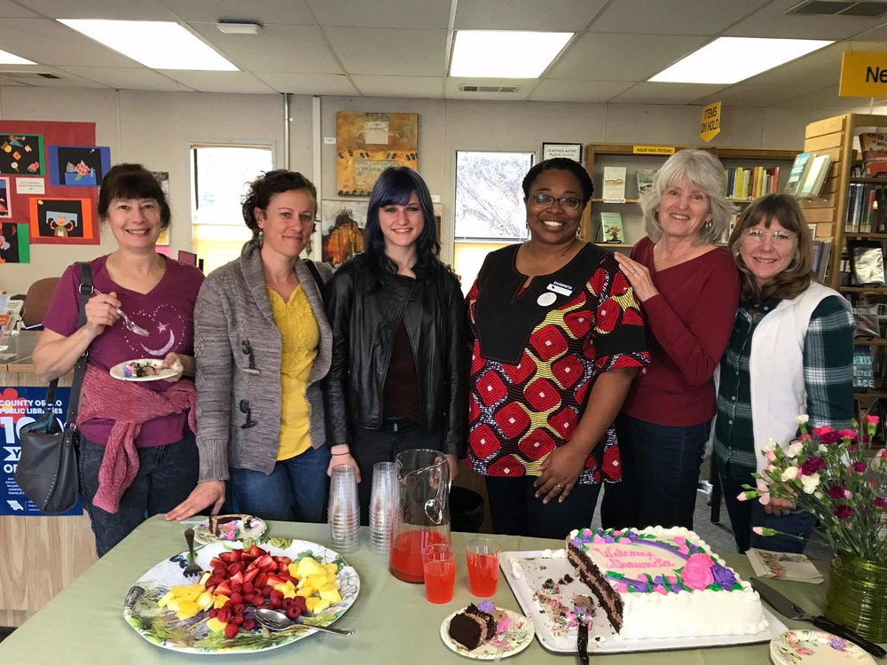 Welcoming Our new Librarian Shawnita Onwuma