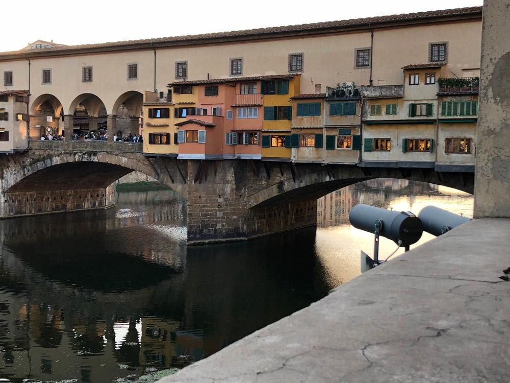 Italian waterway view