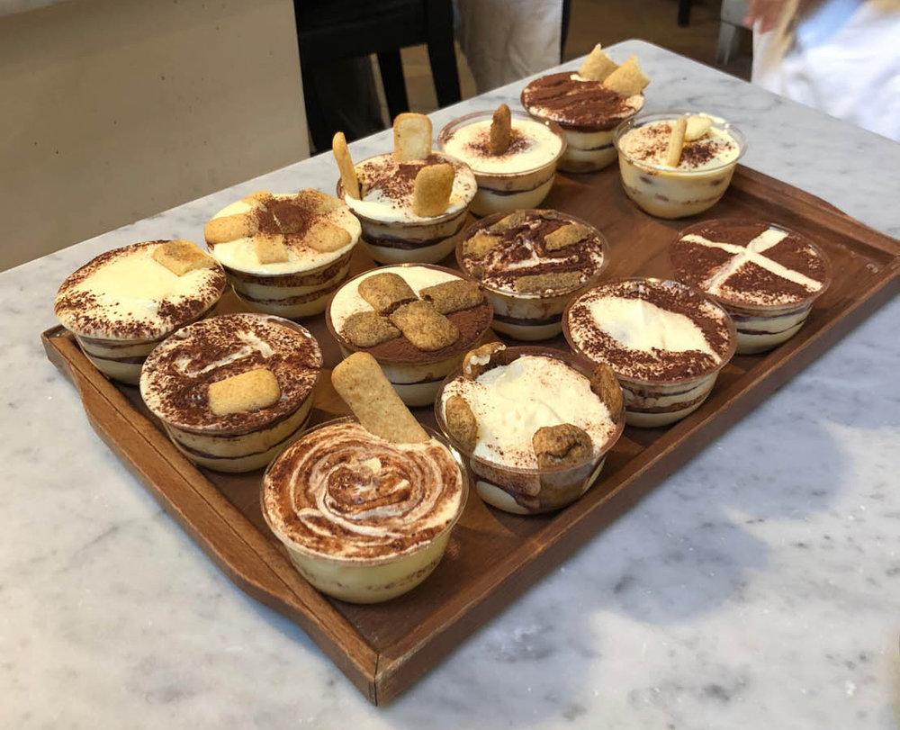 Authentic Tiramisu recipe taught in Florence, Italy