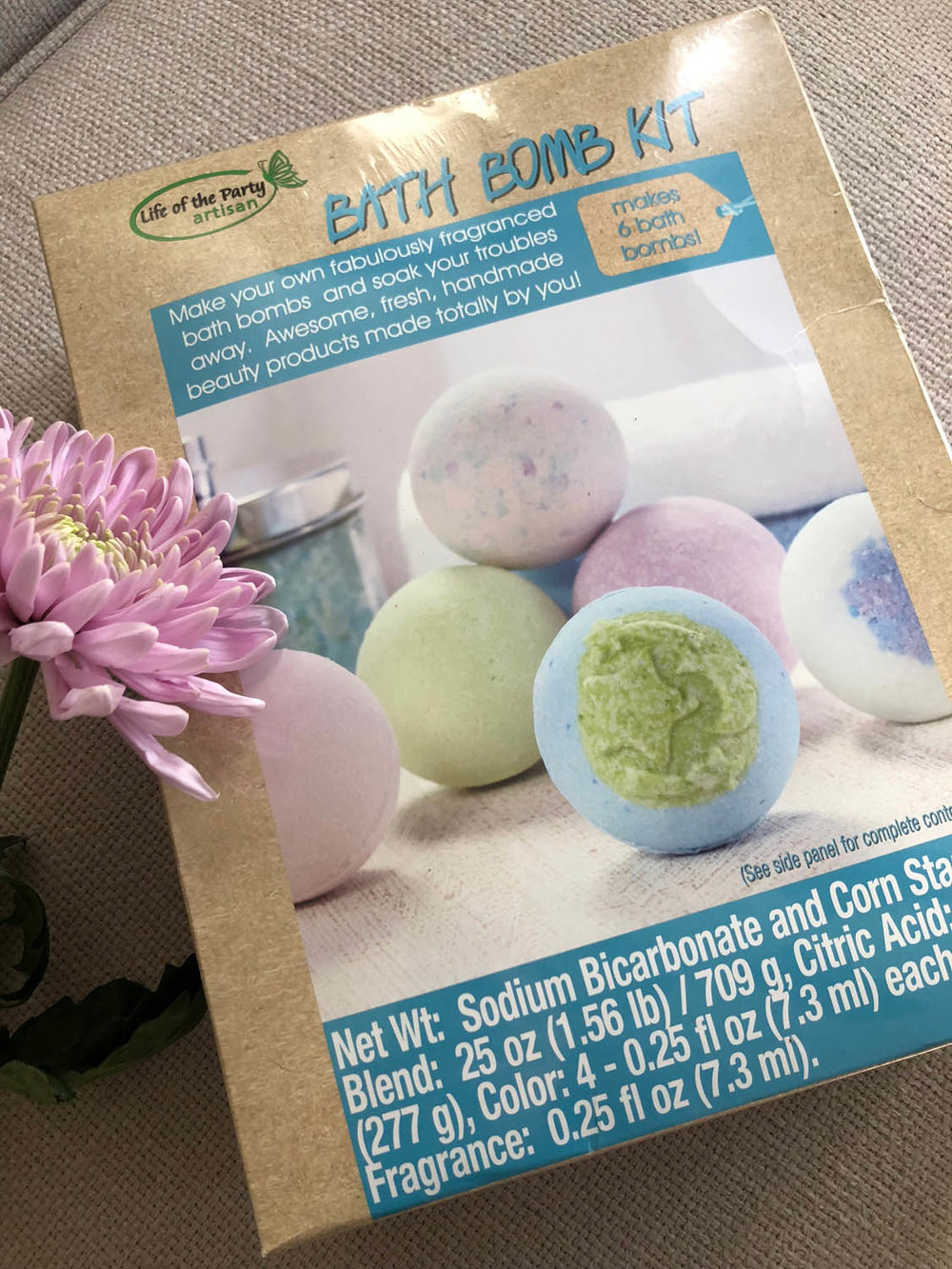 Life of the Party Bath Bomb Kit