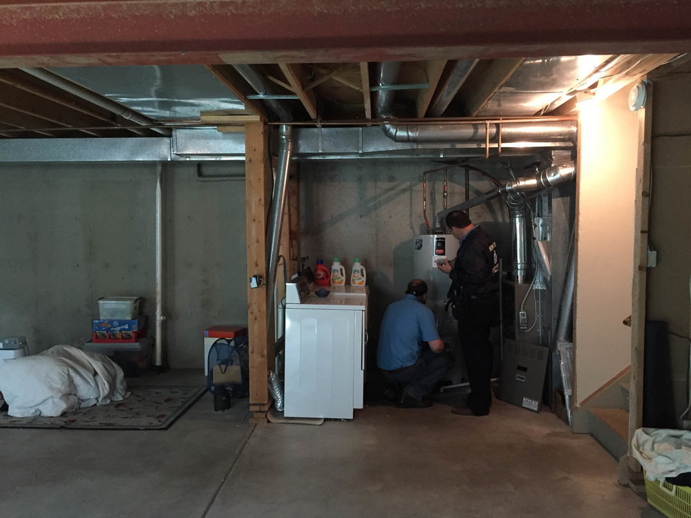 inspection of basement systems