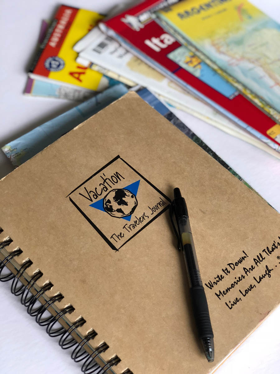 Travel journal and maps