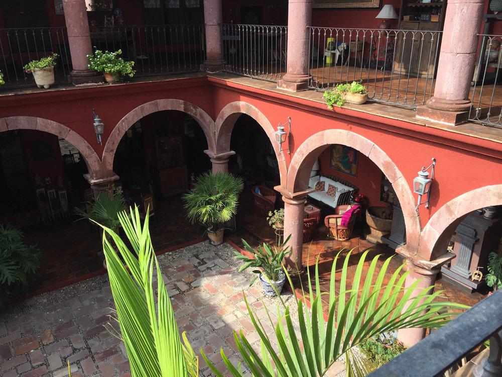 casa de la cuesta view from room