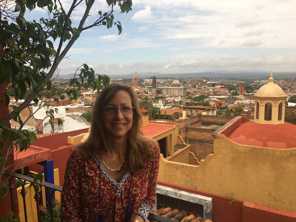 Panoramic view of city of San Miguel de Allende