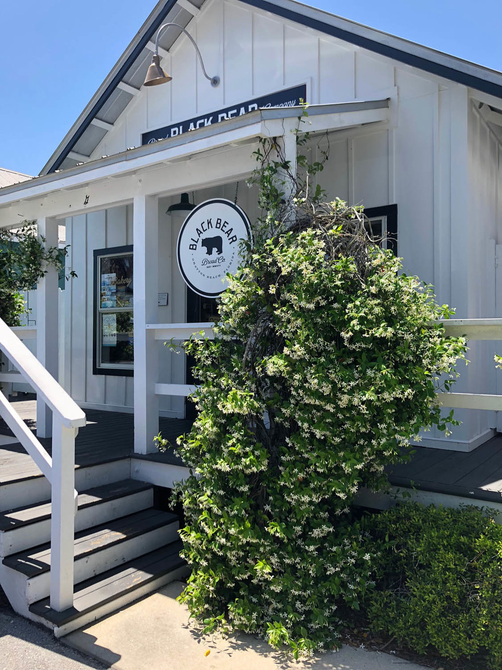Black Bear Bread Company coffee shop in Grayton Beach, Florida