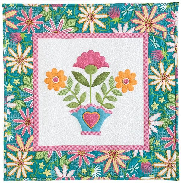 Miss Ashley quilt by Erin Russek, featured in McCall's Quilting America Quilt