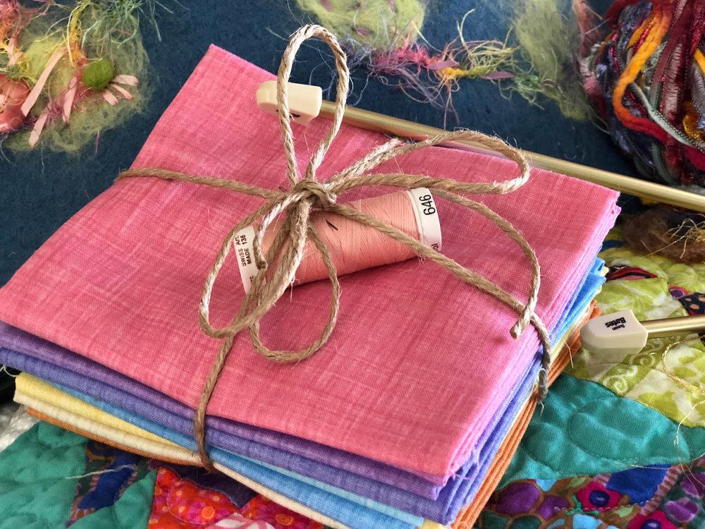 fat quarter quilting fabric bundle