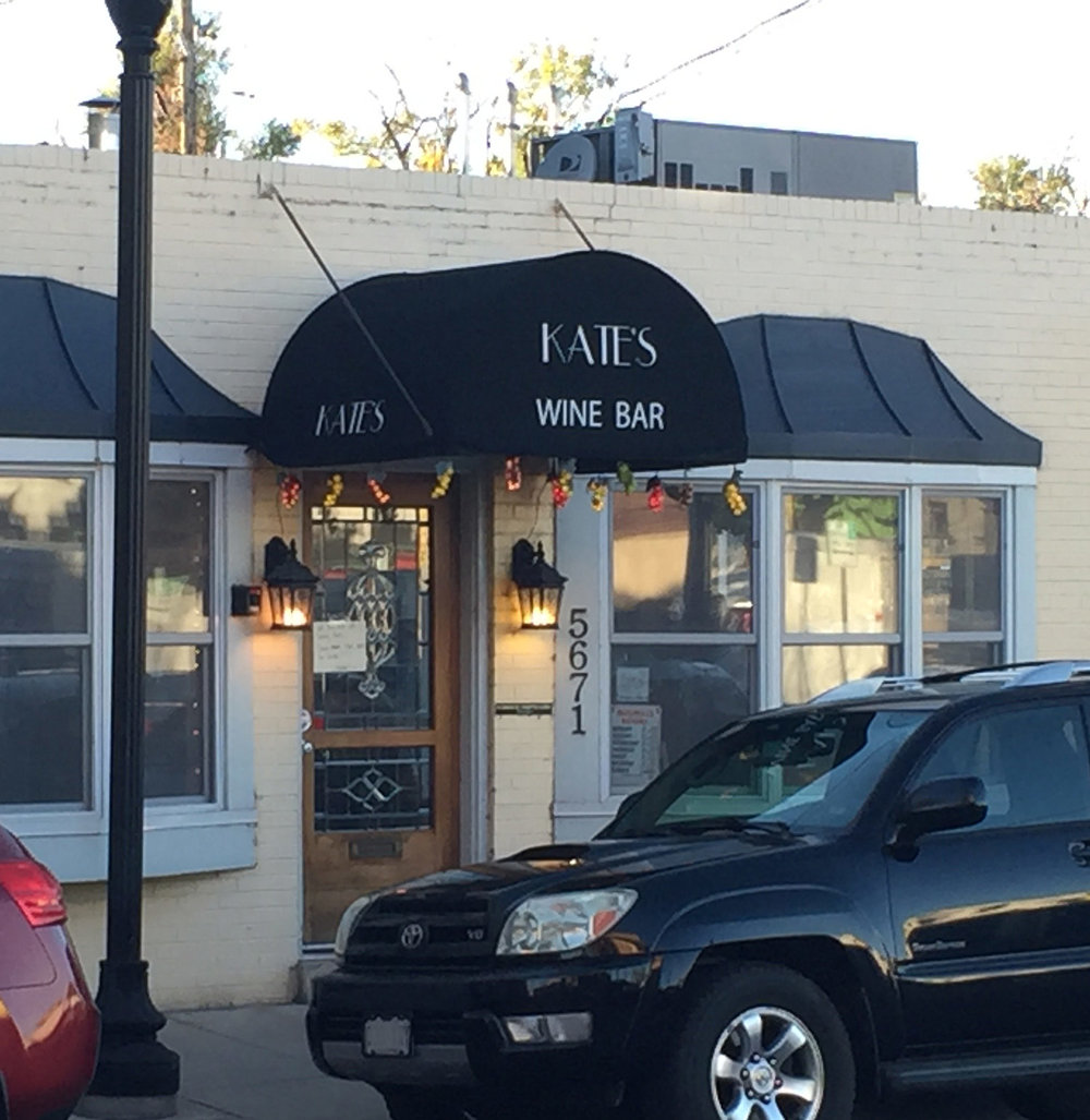 Kate's Wine Bar  in historic old downtown Littleton, CO