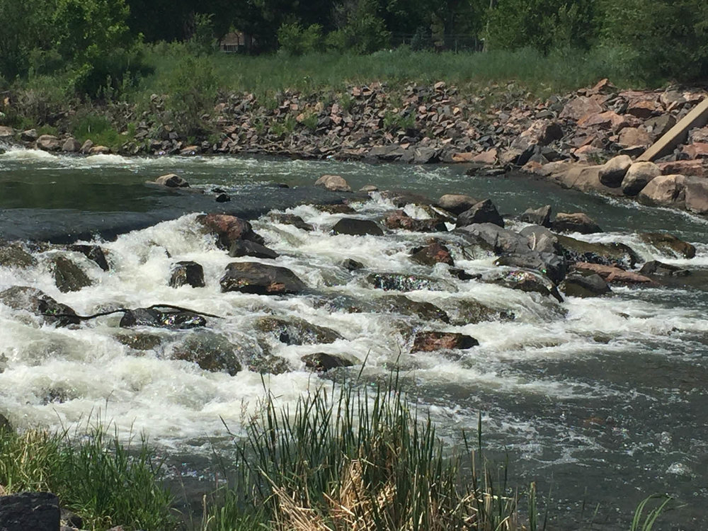 Platte River along Platte River Trail in Littleton, CO