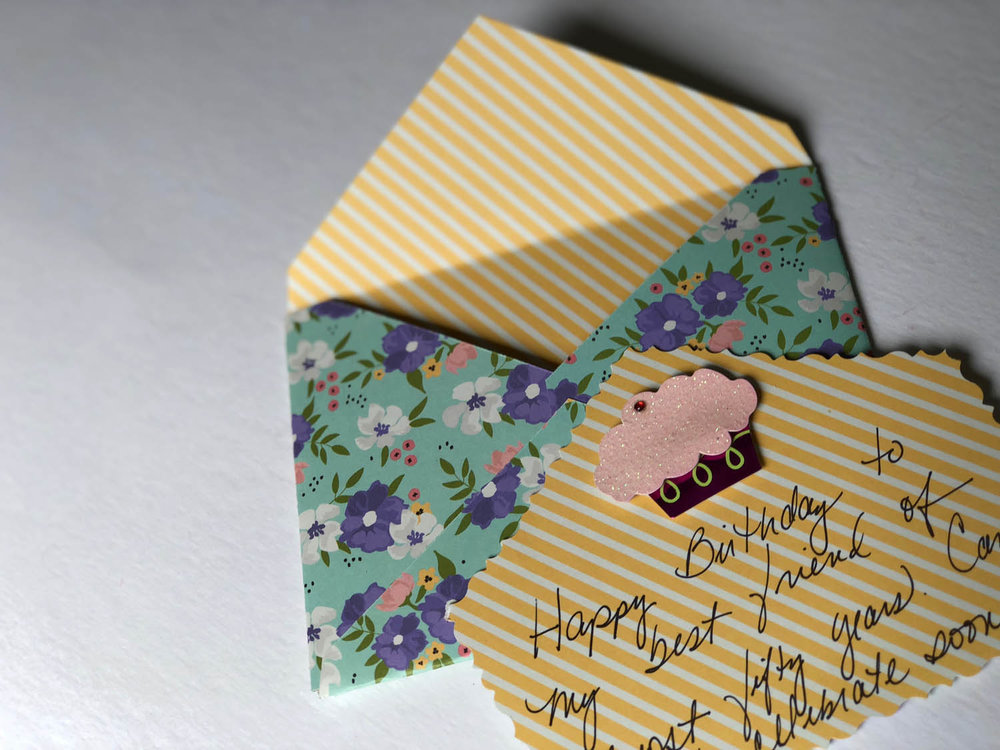 8 Finished Diy Envelopes With Scrapbook Paper And