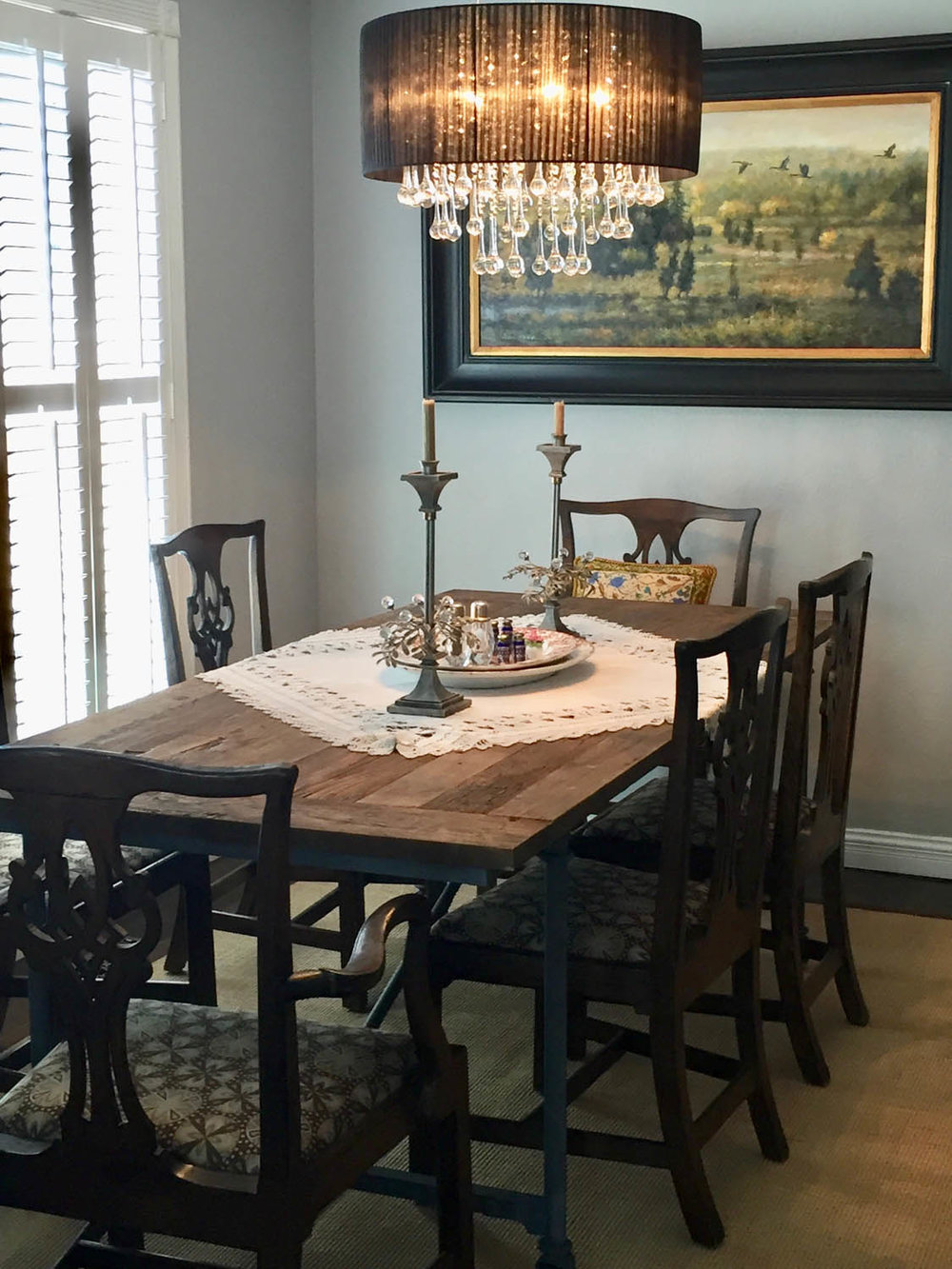 Curtice Cottage dining room after remodel