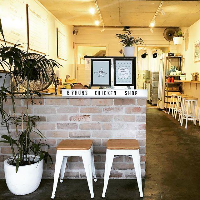 Barefoot Chook....Byron's Chicken Shop. ✌🏻🐓 . . .  #barefootchook #byronbay #chickenshop