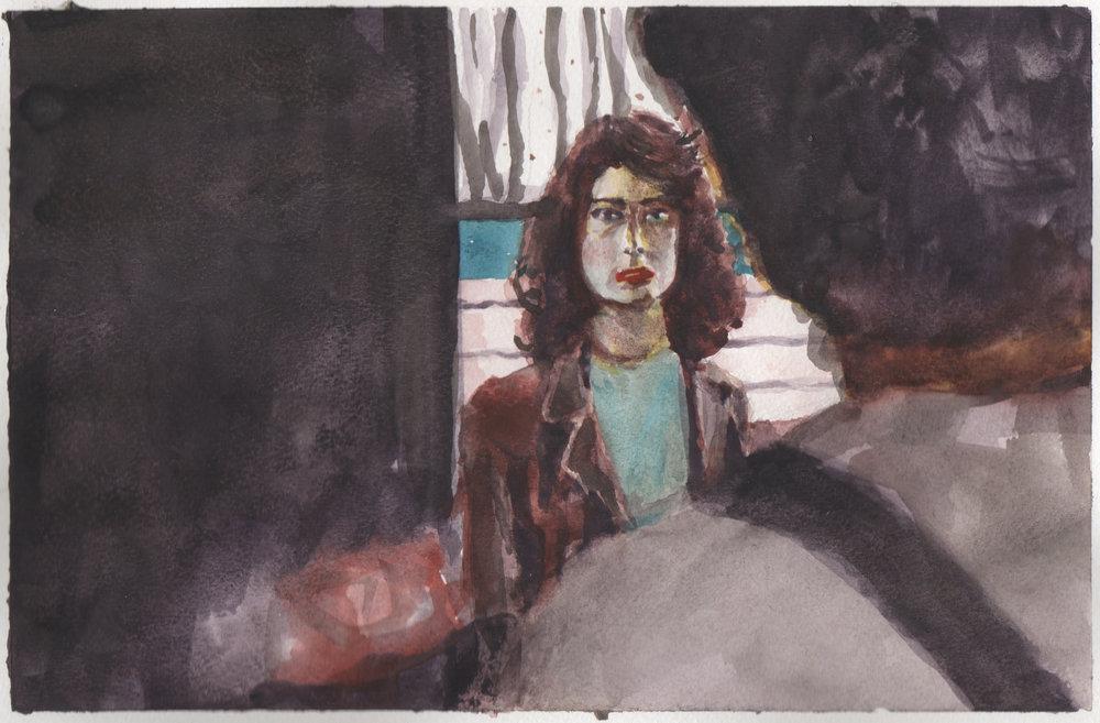 Twin Peaks painting