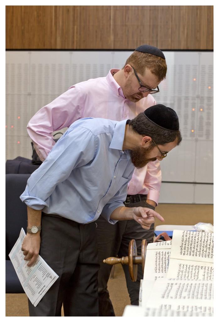 RabbiGlazer&RabbiLeviSelwyn_CongregationBethSholom_October2015