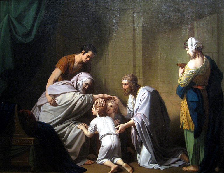 1080-Jacob_Blessing_Ephraim_and_Manasseh_by_Benjamin_West