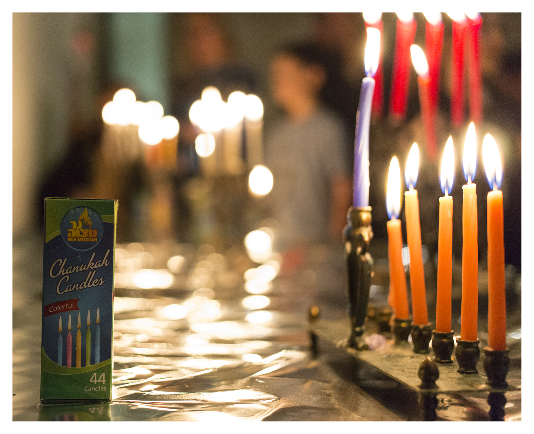 CandleLighting5_CBSCommunityHanukkahCelebration_December2015