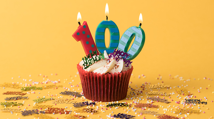 100th Birthday Cupcake.jpg
