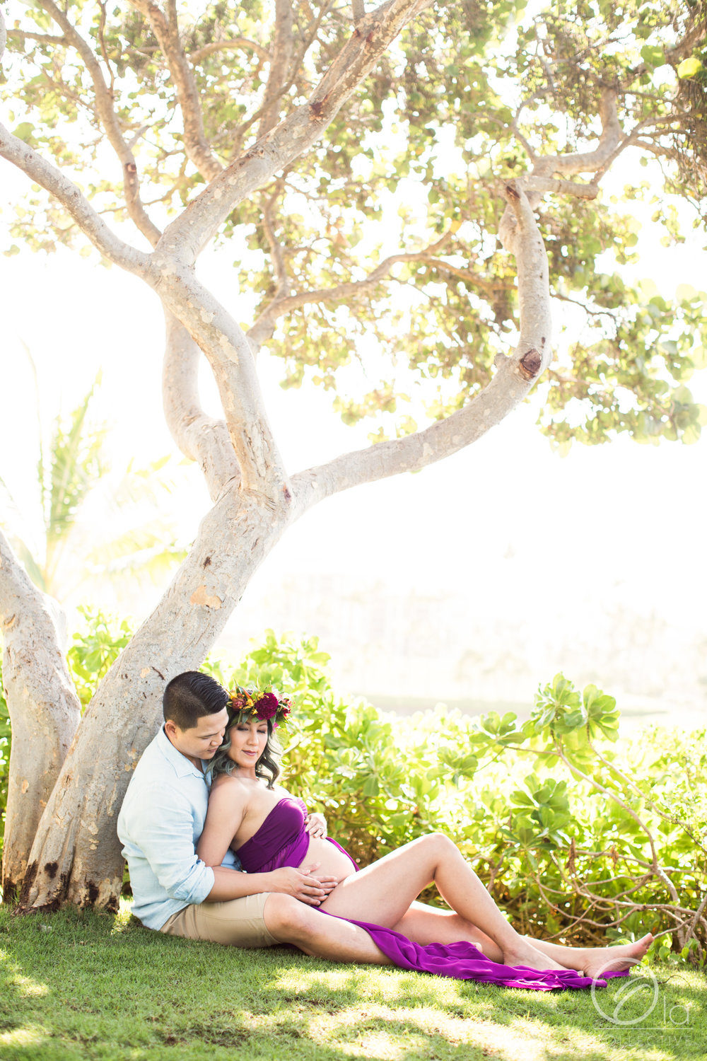 Pohaku point is the perfect area to enjoy a sweet, private moment together.
