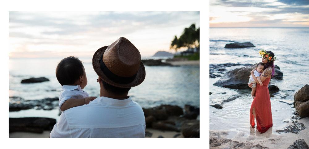 Four Seasons Oahu Family Photographer