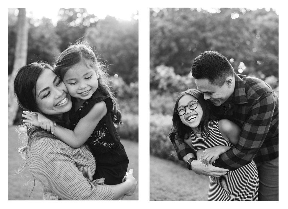 Ko Olina Family Photographer Black and White