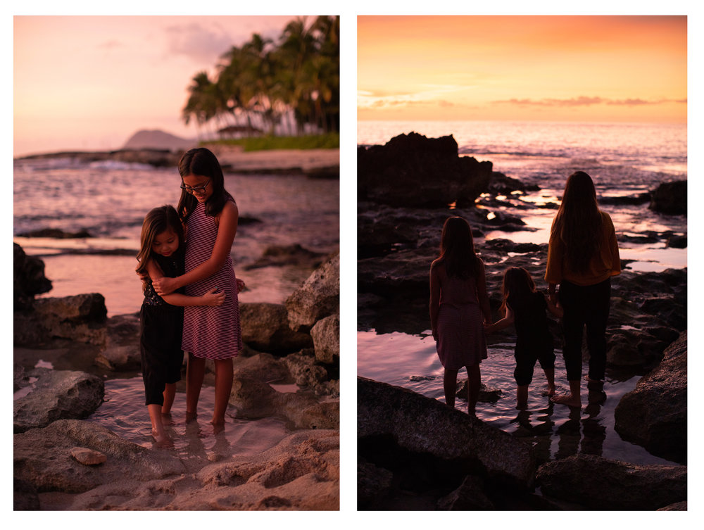 Ko Olina Children Sunset Photographer