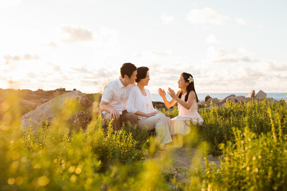 koolina family photographer liz four seasons oahu