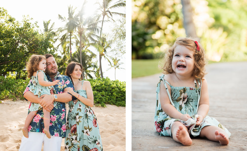 Four Seasons Oahu Photographer Family  Ola Collective