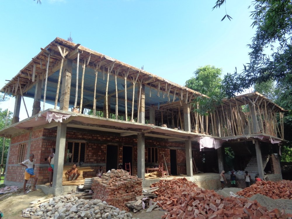 Padariya School, Nepal - before