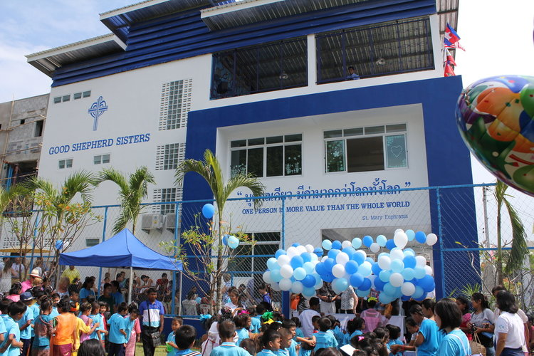 The Mike Matthews Learning Centre for the Good Shepherd, Thailand - after